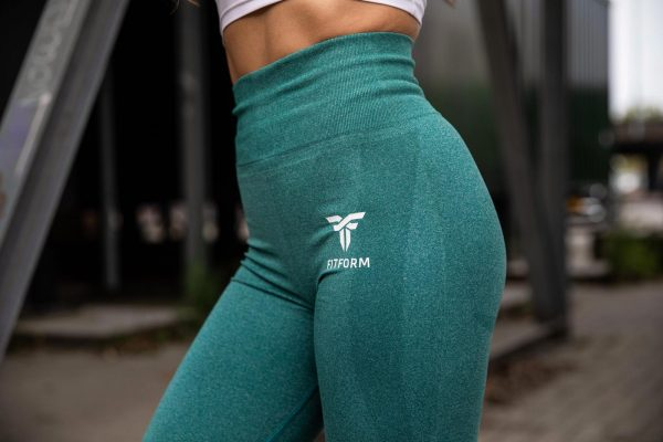 Seamless legging Sea Green